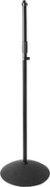 On-Stage - Dome-Base Microphone Stand - Black