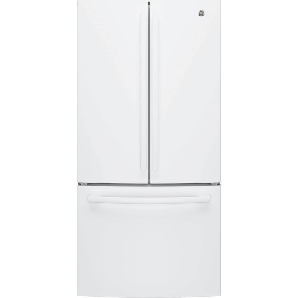 Ge 248 cu ft french door refrigerator high gloss white at ft french door refrigerator high gloss white at pacific sales rubansaba