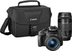 Canon - EOS Rebel SL1 DSLR Camera with 18-55mm STM and 75-300mm III Lenses - Black