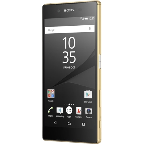 Sony - Xperia Z5 4G with 32GB Memory Cell Phone (Unlocked) - Gold