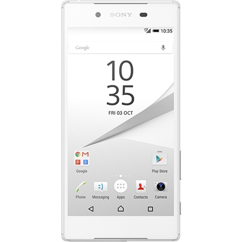 Sony - Xperia Z5 4G with 32GB Memory Cell Phone (Unlocked) - White