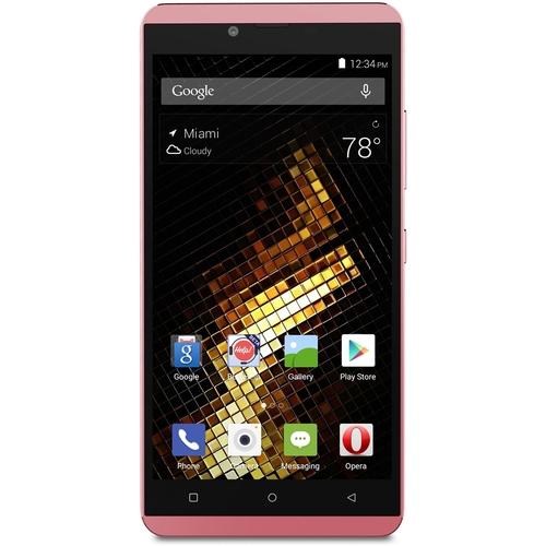 BLU - Vivo XL 4G with 16GB Memory Cell Phone (Unlocked) - Pink