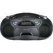 Memorex - Flexbeats Cd/cassette Boombox - Black