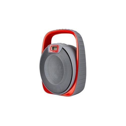 Memorex - Portable Bluetooth Speaker - Red
