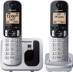 Panasonic - DECT 6.0 Expandable Cordless Phone - Silver