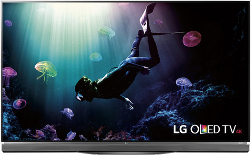 LG - 65 Class - (64.5 Diag.) - Oled - 2160p - Smart - 3D - 4K Ultra HD TV - with High Dynamic Range - Black