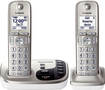 Panasonic - KX-TGD222N DECT 6.0 Expandable Cordless Phone System with Digital Answering System - Champagne Gold