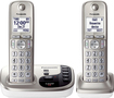 Panasonic - DECT 6.0 Expandable Cordless Phone System with Digital Answering System - Champagne Gold
