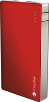 mophie - powerstation 4000 External Battery for Most Micro USB Devices - Red