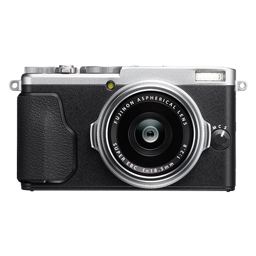 Fujifilm - X-Series X70 16.3-Megapixel Digital Camera - Silver