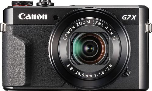 Canon - PowerShot G7 X Mark II 20.1-Megapixel Digital Camera