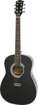 Maestro - 6-String Parlor-Size Acoustic Guitar - Black