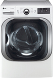 LG - SteamDryer 9.0 Cu. Ft. 14-Cycle Ultra-Large Capacity Steam Gas Dryer - White