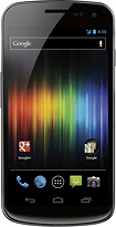 Samsung - Galaxy Nexus Mobile Phone - Black (Sprint)