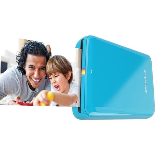 Polaroid - ZIP Mobile Instant Printer - Blue