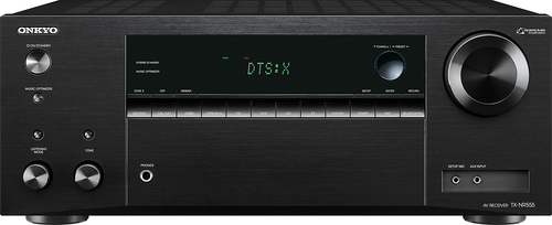Onkyo - 980W 7.2-Ch. Network-Ready 4K Ultra HD and 3D Pass-Through A/V Home Theater Receiver - Black