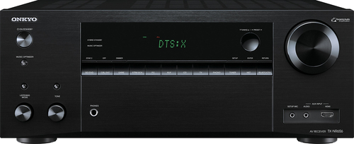 Onkyo - 7.2-Channel Network A/V Receiver - Black