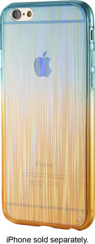 Dynex™ - Back Cover for Apple iPhone 6 and 6s - Blue, Orange