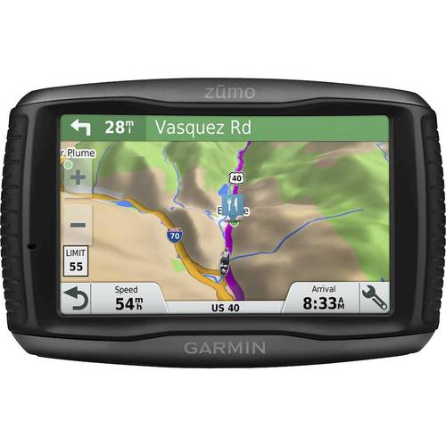Garmin - zumo 595LM 5 GPS with Built-In Bluetooth, Lifetime Map Updates
