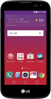Virgin Mobile - Lg K3 With 8gb Memory Prepaid Cell Phone - Black