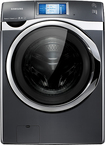 Samsung - 4.5 Cu. Ft. 21-cycle High-efficiency Steam Front-loading Washer - Onyx 5020854