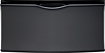 Samsung - Washer/Dryer Laundry Pedestal with Storage Drawer - Onyx