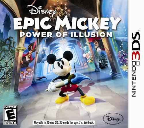 Disney Epic Mickey: The Power of Illusion - Nintendo 3DS