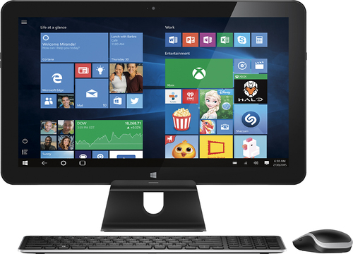 Dell - XPS 18 18.4 Portable Touch-Screen All-In-One - Intel Core i5 - 8GB Memory - 1TB Hard Drive - Black