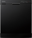 "Samsung - 24"" Tall Tub Built-In Dishwasher - Black"