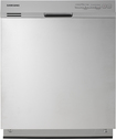 "Samsung - 24"" Tall Tub Built-In Dishwasher - Stainless-Steel"