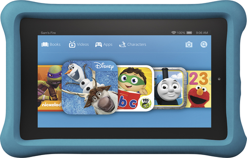 Amazon - Fire Kids Edition - 7 Tablet - 16GB - Blue