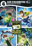 4 Kid Favorites: The Ben 10 Alien Force Collection [4 Discs] (dvd) 5026233
