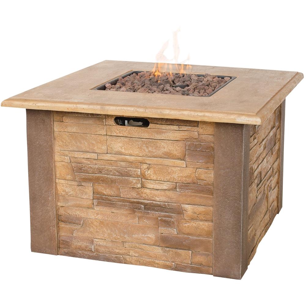 UniFlame - Gas Fireplace - Stone