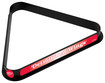 Trademark Games - Detroit Red Wings Billiard Ball Triangle Rack - Red/Black