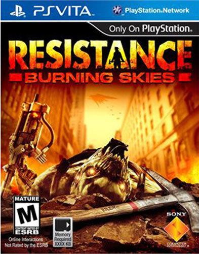 Resistance: Burning Skies - PS Vita