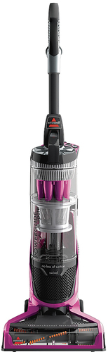 BISSELL - PowerGlide Bagless Pet Upright Vacuum - LaBomba Pink/Black/Sparkle Silver