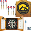 Trademark - Iowa Solid Pine Dart Cabinet Set