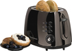 Hamilton Beach - Black Ice 2-Slice Wide-Slot Toaster - Black