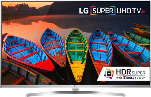 LG - 55 Class (54.6 Diag.) - LED - 2160p - Smart - 3D - 4K Ultra HD TV - Silver