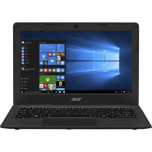 Acer - Aspire One Cloudbook 11 11.6 Refurbished Laptop - Intel Celeron - 2GB Memory - 32GB Solid State Drive - Gray