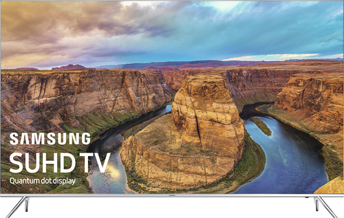 Samsung - 55 Class - (54.6 Diag.) - LED - 2160p - Smart - 4K Ultra HD TV - with High Dynamic Range - Silver