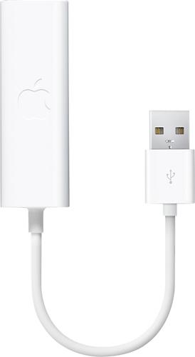 Apple® - USB Ethernet Adapter - White
