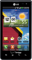 LG - Lucid 4G Mobile Phone - Black (Verizon Wireless)