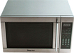 Magic Chef - 1.3 Cu. Ft. Mid-Size Microwave - Stainless-Steel
