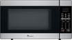 Magic Chef - 1.8 Cu. Ft. Full-Size Microwave - Stainless-Steel/Black