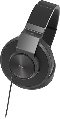 AKG - K550 Over-the-Ear Headphones - Black