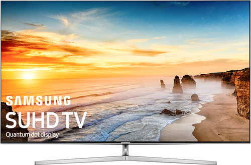 Samsung - 55 Class - (54.6 Diag.) - LED - 2160p - Smart - 4K Ultra HD TV - Black