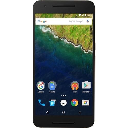 Huawei - Refurbished Google Nexus 6P 4G with 64GB Memory Cell Phone (Unlocked) - Matte Gold