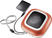Dynex™ - Portable Speaker for Apple® iPod® and Most MP3 Players - Orange - Say It In Color