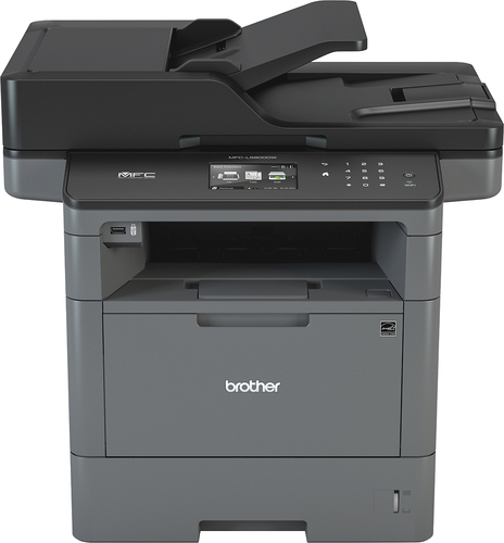 Brother - MFC-L5800DW Wireless Black-and-White All-In-One Laser Printer